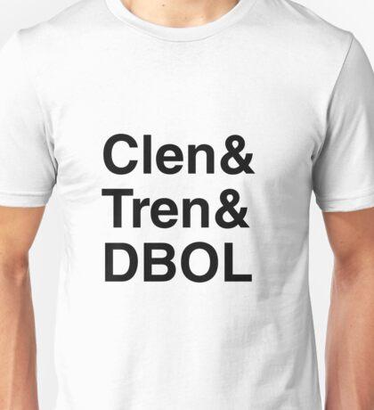 Clen Harder Black Unisex T-Shirt