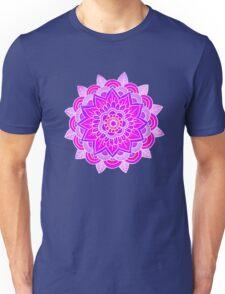 Mandala: Lavender/Pink  Unisex T-Shirt
