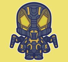 Yellow Insect Man Kids Clothes