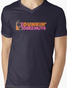 Dunkin Deeznuts Mens V-Neck T-Shirt
