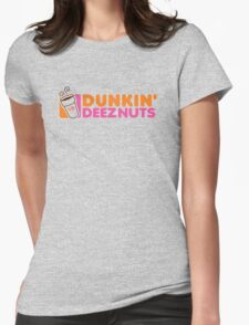 Dunkin Deeznuts Womens Fitted T-Shirt