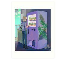 vending machine Art Print