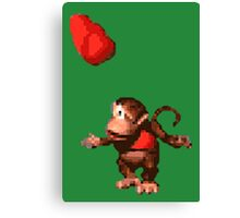 Donkey Kong Country  - Wink Canvas Print