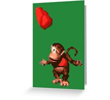 Donkey Kong Country  - Wink Greeting Card