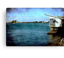 View From The Promenade Canvas Print