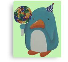 Party Penguin Canvas Print