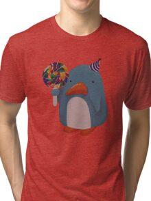 Party Penguin Tri-blend T-Shirt