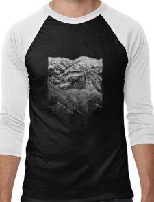 3 MOUNTAINS Men's Baseball ¾ T-Shirt