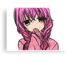 Karuta colour doodle  Canvas Print