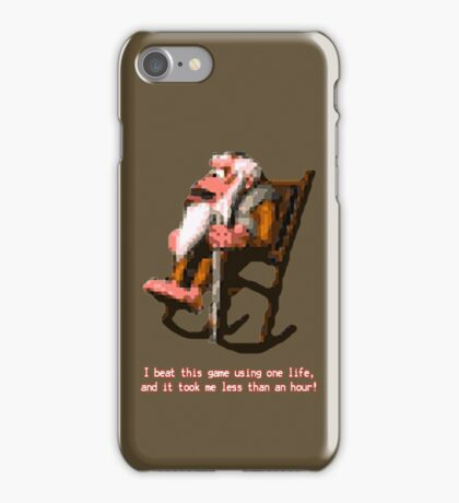 Donkey Kong Country - Cranky Kong iPhone Case/Skin