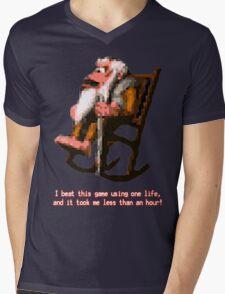 Donkey Kong Country - Cranky Kong Mens V-Neck T-Shirt