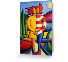 The Lovers By Smoonlite Greeting Card