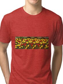 Tulip Extravaganza  Tri-blend T-Shirt