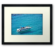 It's a hard life, part 1..... Framed Print