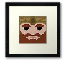 Dwarf Square Framed Print