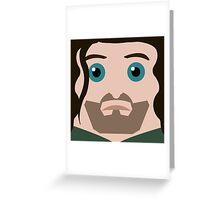 Aragorn Square Greeting Card