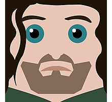 Aragorn Square Photographic Print
