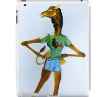 awkward avoidance iPad Case/Skin