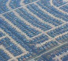 Views from Above: Abstract Suburbia by Karen K Smith