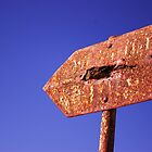 Rusty Old Sign by Suzanne Edge