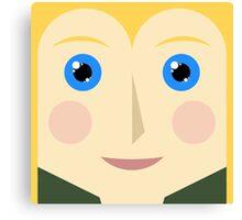 Legolas Square Canvas Print