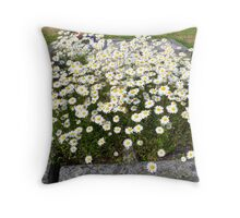 Flowers on Someone´s Grave Throw Pillow