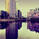Docklands  by Angie Muccillo