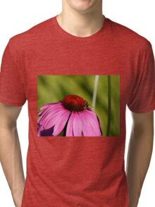 Visitor on a Coneflower Tri-blend T-Shirt