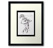 ZAPPER Framed Print