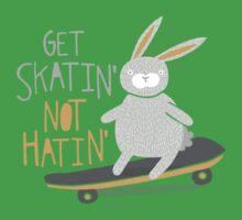 Get Skatin' Not Hatin' Baby Tee