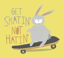 Get Skatin' Not Hatin' One Piece - Short Sleeve