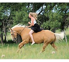 Canter Photographic Print
