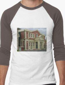 Surpeme Court Building, Launceston, Tasmania, Australia Men's Baseball ¾ T-Shirt