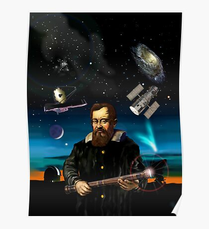 Galileo and his legacy Poster
