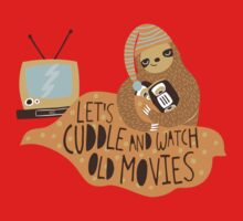 Let's Cuddle and Watch Old Movies Kids Clothes
