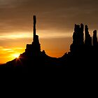 Monument Valley Sunrise by rwilks