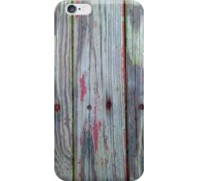 Old Barn Wood With Rusty Nails iPhone Case/Skin