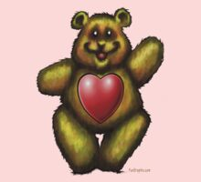 Heart Bear by Kevin Middleton