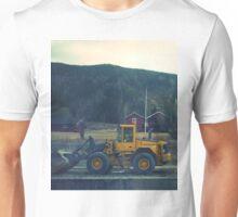yellow tractor Unisex T-Shirt