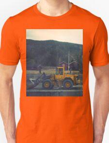 yellow tractor T-Shirt