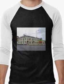 Pizza Pub, Launceston, Tasmania, Australia Men's Baseball ¾ T-Shirt