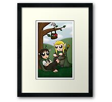 Get Your Nails Did Framed Print
