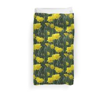 Sunny daffodils Duvet Cover
