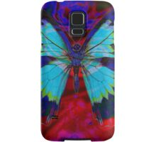 Psychedelia Illusions Take the Form of Butterflies Samsung Galaxy Case/Skin