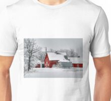 Red in White!!! Unisex T-Shirt