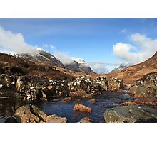 April in Glencoe. Photographic Print