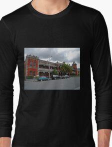 Esk View Terrace, Launceston, Tasmania, Australia Long Sleeve T-Shirt