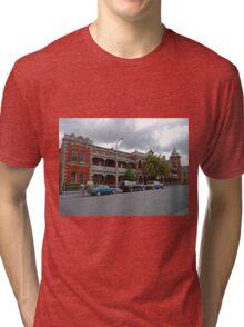 Esk View Terrace, Launceston, Tasmania, Australia Tri-blend T-Shirt