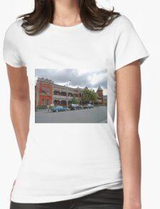Esk View Terrace, Launceston, Tasmania, Australia Womens Fitted T-Shirt