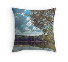 Moon Lake Cloudscape #2 Throw Pillow